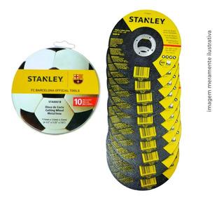 Disco De Corte 10 Unid. 115x1,0x22mm Sta8061b - Stanley