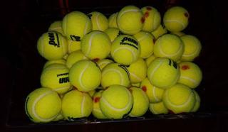Pelotas De Tenis Usadas, Ideal Escuelitas+( Encordados )