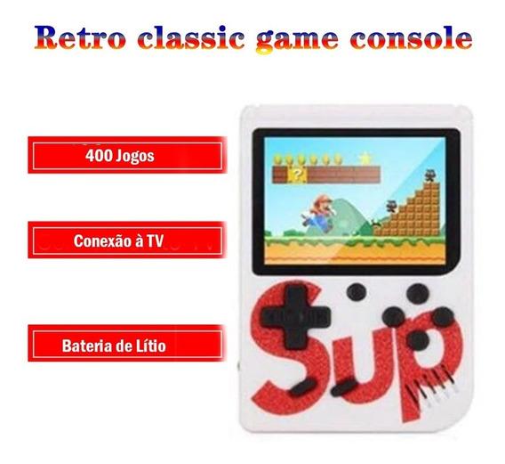 Sup Video Game Console Retro Classico Portátil 400 Jogos