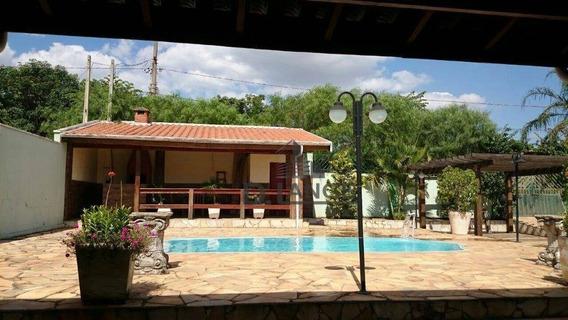 Chácara Com 3 Dormitórios À Venda, 1080 M² Por R$ 530.000 Estrada Itapavassu, 348 - Itapavussu - Cosmópolis/sp - Ch0366