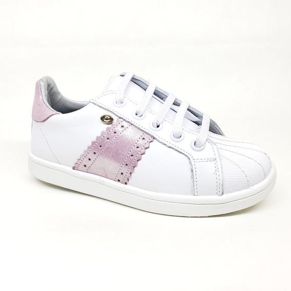 Tenis Audaz 157103 Blanco Rosa