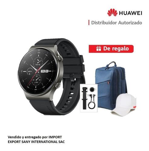 Imagen 1 de 7 de Huawei Smartwatch Gt2 Pro + Mochila + Selfie Stick + Gorra