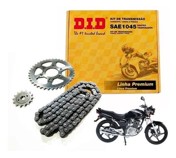 Kit Transmision Did Suzuki En Gn 125 Completo Sti Motos Full
