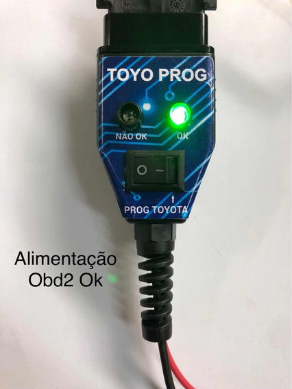 Cabo Para Troca Bateria / Programar Módulo Toyota / Obd2