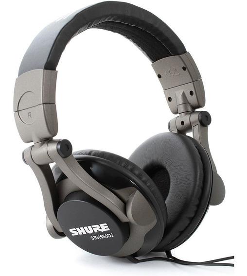 Fone Profissional Headphone Shure Srh550dj