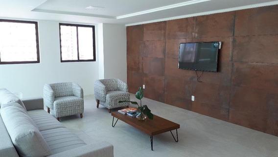 Apartamento Em Tamarineira, Recife/pe De 34m² 1 Quartos À Venda Por R$ 270.000,00 - Ap373980