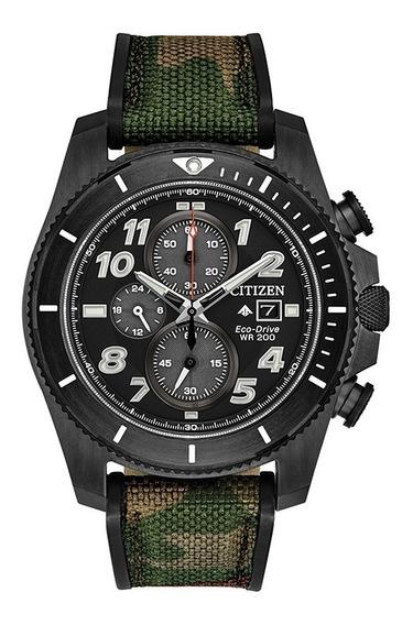 Relógio Citizen Promaster Chronograph Militar Ca0727-12e
