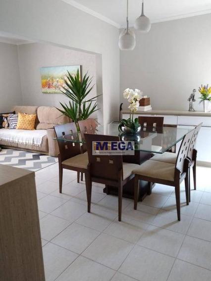 Casa Com 3 Dormitórios À Venda, 146 M² Por R$ 530.000 - Parque Jambeiro - Campinas/sp - Ca1446