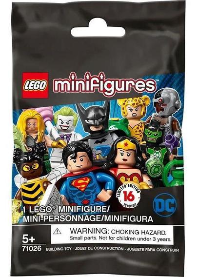 Lego Mini Figure - Dc Comics - Super Heroes Series - Mini Pe