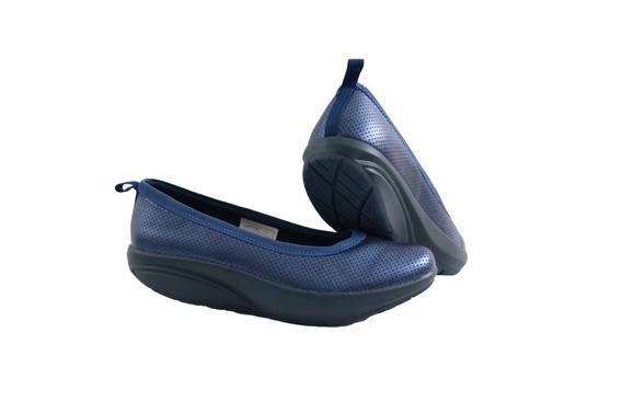 Walkmaxx Ballerinas Zapatos Plantillas Memory Foam Azul