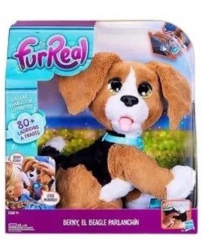 Fur Real Hasbro Berny El Perro Parlanchin