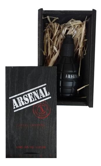 Perfume Arsenal Black Gilles Cantuel 100ml