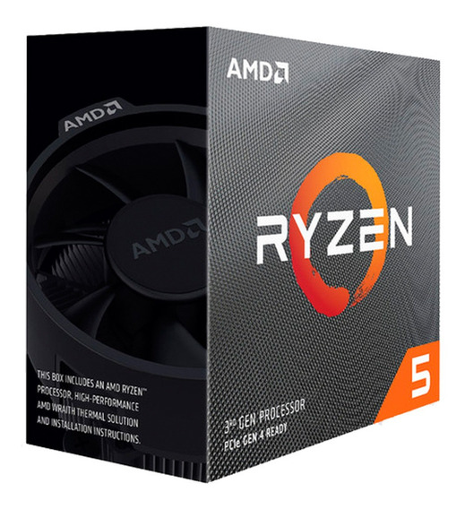 Micro Procesador Amd Ryzen 5 3600x 4.4 Ghz Am4 Mexx