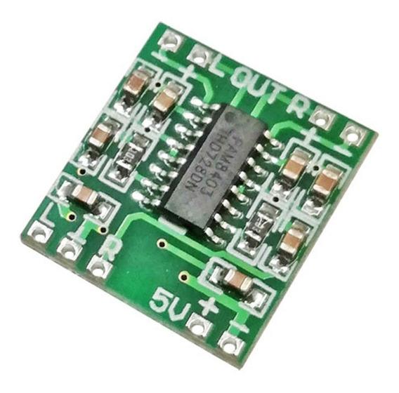 Modulo Amplificador De Audio Estereo Clase D Pam8403