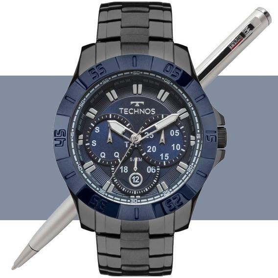 Relógio Technos Masculino Skymaster 6p79be/4c C/ Nota Fiscal