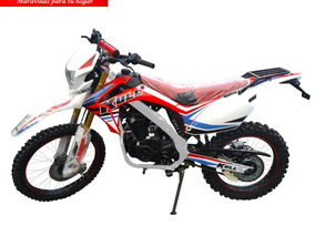 Moto Kull Crx200 Año 2019 200cc Blanco/rojo