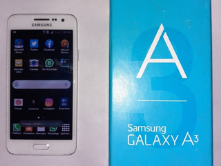 Samsung Galaxy A3 Doble Sim Legal Con Su Caja Y Factura