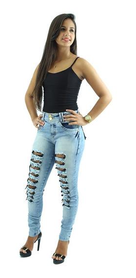 Kit Com 3 Calças Jeans Femininas Escolha As Suas