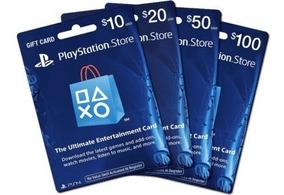 Tarjeta Recarga 50 Usd Playstation - Ps3 Ps4 Psvita Fornite