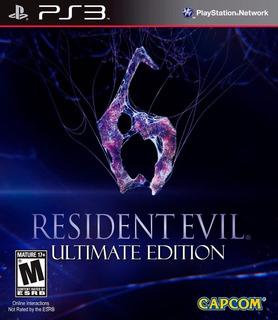 Resident Evil 6 Ps3 | Digital Incluye Extras Tenelo