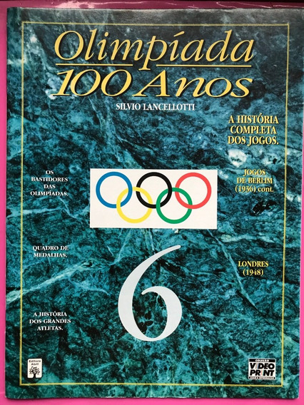 Revista De Olimpíadas 100 Anos Nº 6 + Frete Grátis