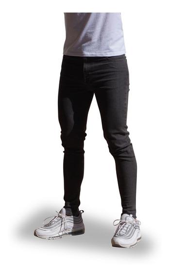 Jeans John Leopard Skinny Slim Fit Varios Colores Mezclilla