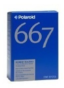 Polaroid 667 Iso 3000 Filme Instantâneo 20 Fotos (novo)