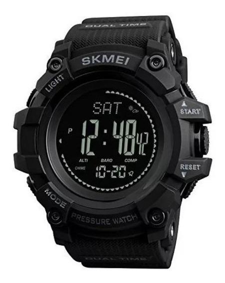Relógio Masculino Skmei Bússola Altímetro Temperatura Barô..