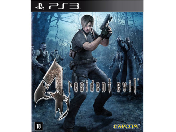 Jogo Ps3 Resident Evil 4 Midia Digital Psn Envio Rapido Aqui