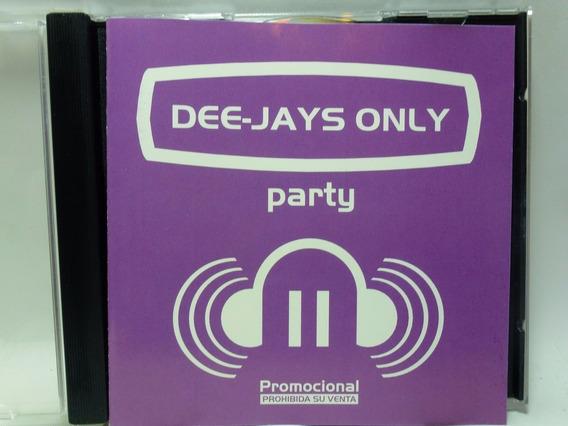 Dee-jays Only Party 2 Natalia Oreiro Audio Cd En Caballito *