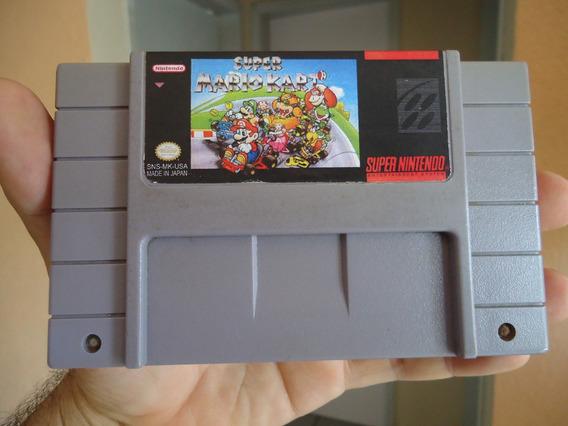 Super Mario Kart - Original Do Super Nintendo - Salvando