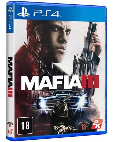 Jogo Mafia 3 Ps4 Mídia Física Original Novo Português Barato Envio Imediato