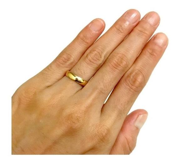 Aliança 6mm Noivado Casamento De Moedas Antigas Cor Ouro