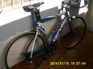 Cervélo P2 Carbon Bicicleta Triatlón Crono La Plata Shimano