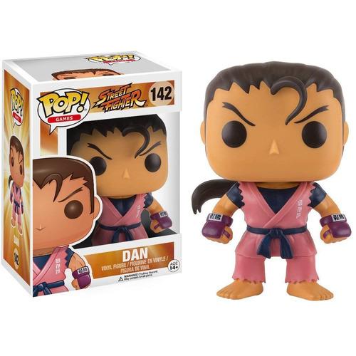 Funko Pop - Street Fighter - Dan #142 - Nuevo - Nextgames