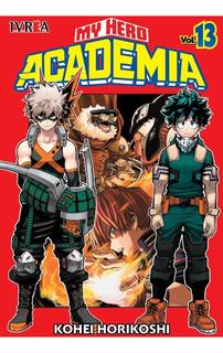 My Hero Academia - N13 - Ivrea - Sobrecubierta - Manga