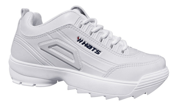 Tênis Branco Feminino/masculino Whats Modinha