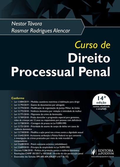 Curso De Direito Processual Penal Nestor Tavora - Ed Atual