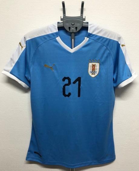 Camisa Uruguai - Seleção Celeste Cavani