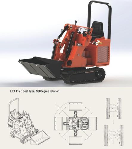 Miniexcavadora Bawoo Lex T 12 (1.8tn)