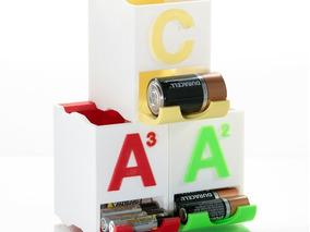 Organizador Pilhas Aaa Aa C