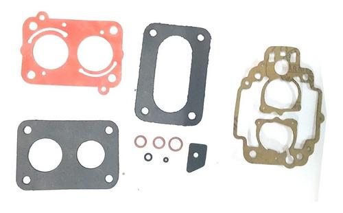 Imagen 1 de 1 de Kit Juntas Carburador Fiat Uno Weber 2 Bocas