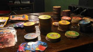 Lote Com 400 Tazos Cards Elma Chips
