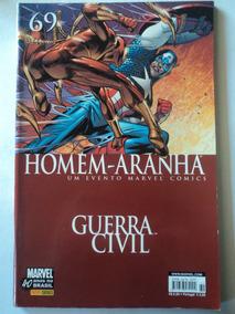 Hq-homem-aranha:guerra Civil:marvel#69:panini Comics