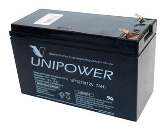 Bateria 12v 7a Selada - Para Nobreak Alarmes Cerca Elétrica