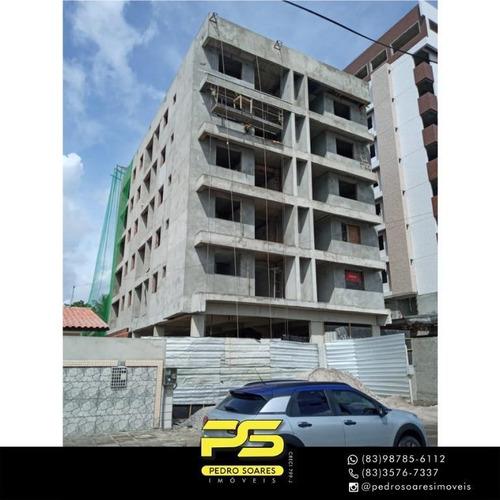 Apartamento Com 2 Dormitórios À Venda, 56 M² Por R$ 279.000 - Estados - João Pessoa/pb - Ap4435