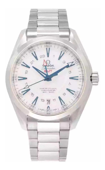 Relógio Omega Seamaster Aqua Terra Gmt Co Axial Good Planet