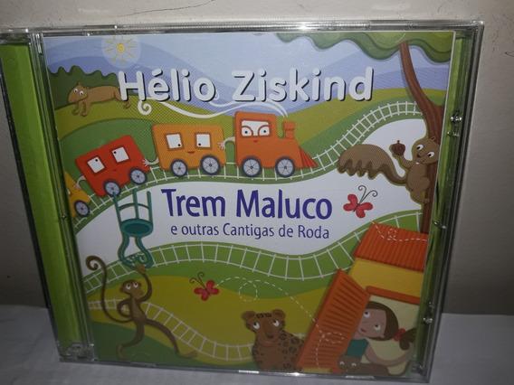 Cd Hélio Zisqind Trem Maluco E Outras Cantigas De Roda