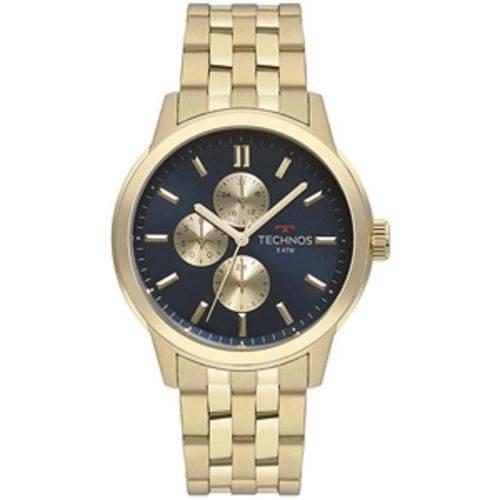 Relógio Technos 6p27dt/4a Dourado