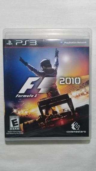 Fórmula 1 2010 Ps3 Completo Americano